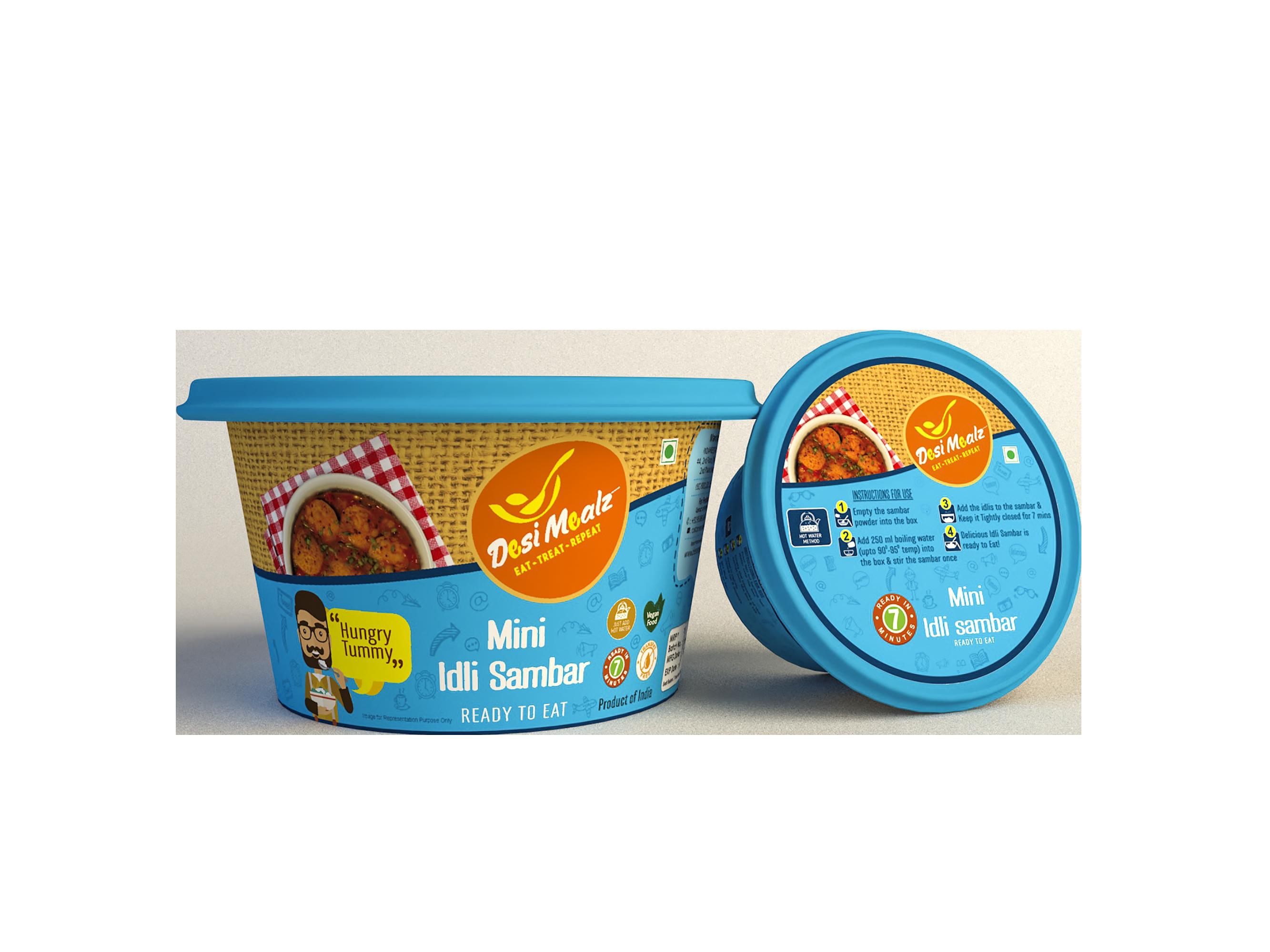 instant food for travellers-mini idli