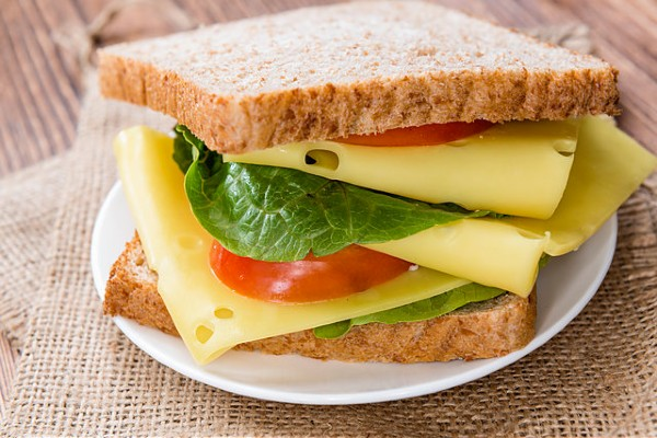 cheese Sandwich - Best Instant Breakfast