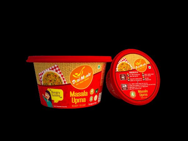 Masala upma-Best instant Breakfast :Desimealz