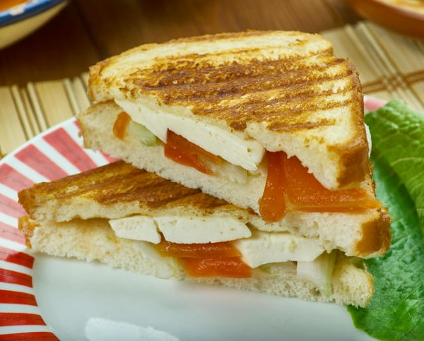 Paneer Sandwich - Best Instant Breakfast